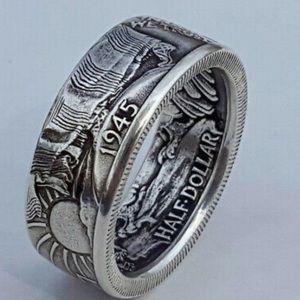 NEW 925 Sterling Silver men's Ring